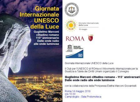 Giornata Internazionale UNESCO della Luce