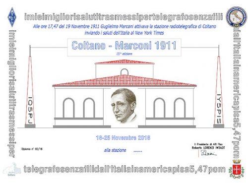 Diploma Coltano Marconi 2018