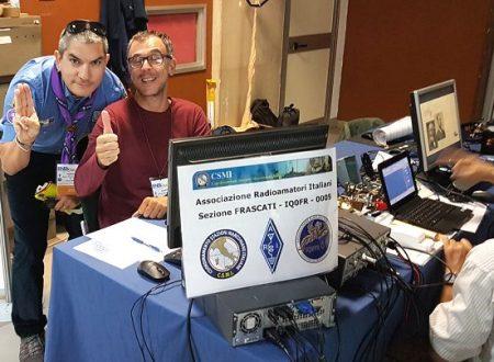 I radioamatori di ARI Frascati all'Open Day della Ricerca 2019
