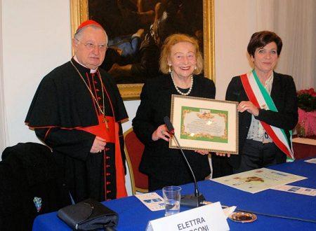 Elettra Marconi, cittadina onoraria di Castel Gandolfo